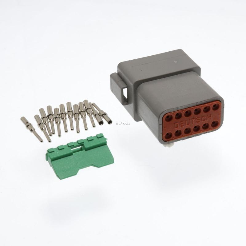 DT04-12P 12 Pin Male Deutsch DT Series