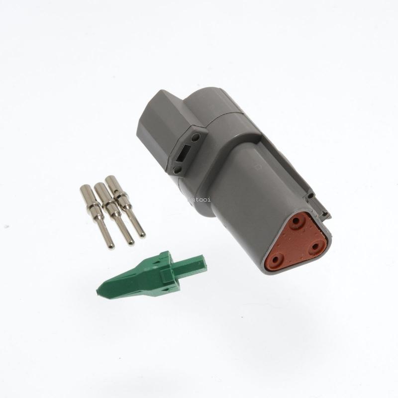 DT04-3P 3 Pin Male Deutsch DT Series