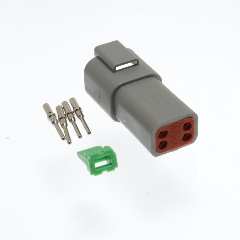 DT04-4P 4 Pin Male Deutsch DT Series