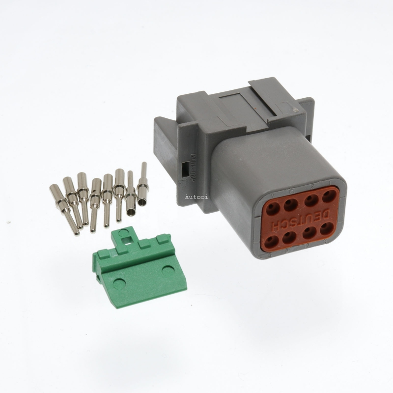 DT04-8P 8 Pin Male Deutsch DT Series